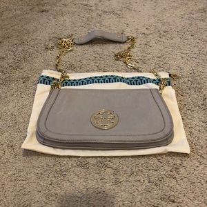 Tory Burch Amanda Logo Cross Body Clutch